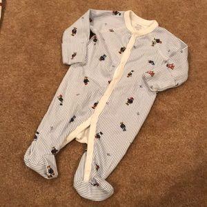 Ralph Lauren teddy bear baby onsie 3M
